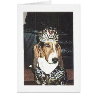 バセットハウンドの女王 カード