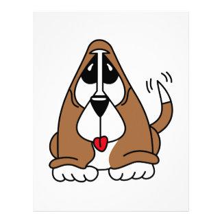 バセットハウンドの子犬 レターヘッド