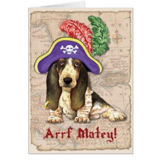バセットハウンドの海賊 カード