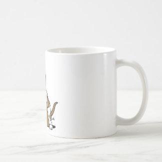 バセットハウンドの漫画 コーヒーマグカップ
