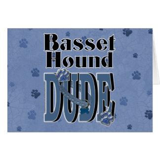 バセットハウンドの男 カード
