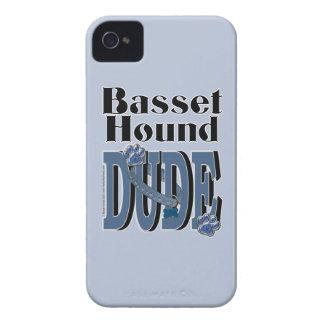 バセットハウンドの男 Case-Mate iPhone 4 ケース