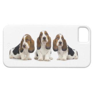 バセットハウンドの私電話箱 iPhone SE/5/5s ケース