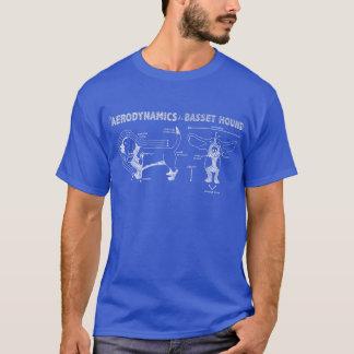 バセットハウンドの空気力学 Tシャツ
