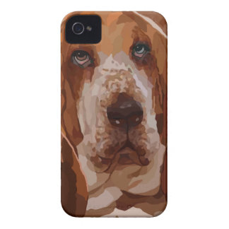 バセットハウンドの絵画のギフト項目 Case-Mate iPhone 4 ケース