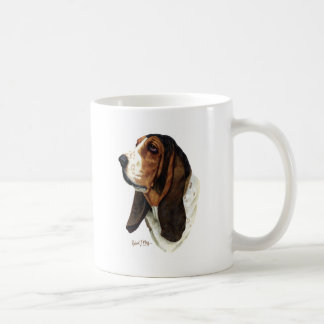 バセットハウンドの頭部1 コーヒーマグカップ