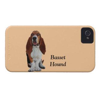 バセットハウンド犬の写真のカスタムなiphone 4ケースの仲間 Case-Mate iPhone 4 ケース