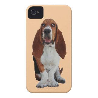 バセットハウンド犬の写真のiphone 4ケースの仲間 Case-Mate iPhone 4 ケース
