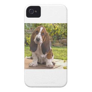 バセットハウンド犬 Case-Mate iPhone 4 ケース