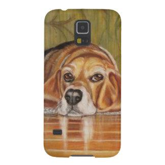 バセットハウンド: Tate Galaxy S5 ケース