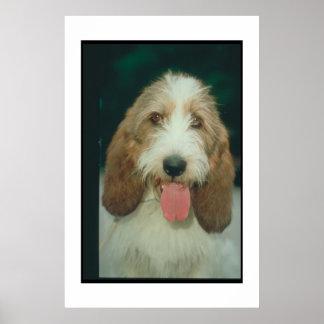 バセット犬のGriffon小さいVendeen微笑ポスター ポスター