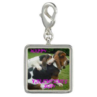 バセット犬猟犬valentines.png チャーム