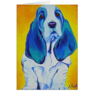 バセット犬#1 カード