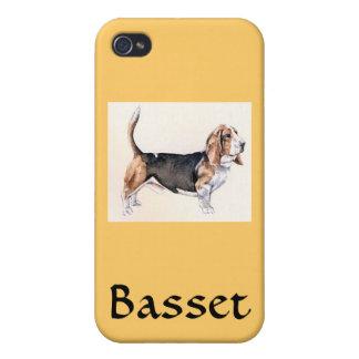 バセット犬 iPhone 4/4Sケース