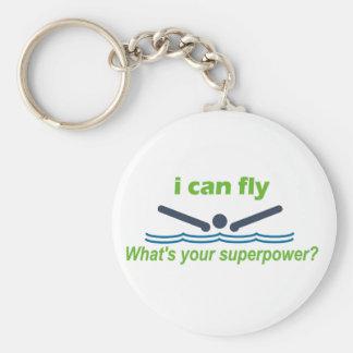 バタフライの泳ぐ人のための素晴らしいギフト! キーホルダー