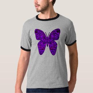バタフライ効果(紫色) Tシャツ