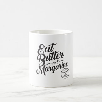 バターないマーガリンのマグを食べて下さい コーヒーマグカップ