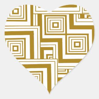 バタースコッチのパズル ハートシール