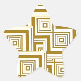 バタースコッチのパズル 星シール