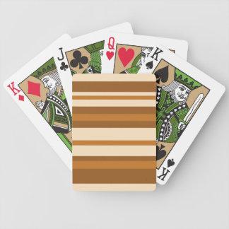 バターミントのストライプな遊ぶカード バイスクルトランプ