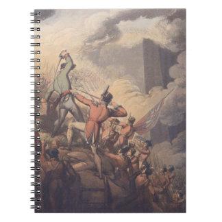 バダホス、「Thの勝利からの1812年4月6日、 ノートブック