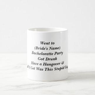 バチェロレッテの好意のマグ コーヒーマグカップ
