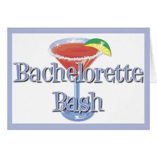 バチェロレッテの強打の招待状 カード