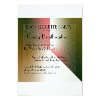 バチェロレッテの招待状 12.7 X 17.8 インビテーションカード