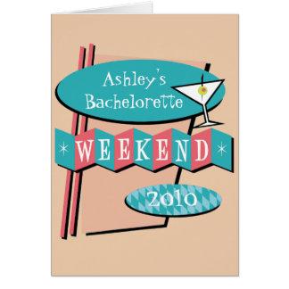 バチェロレッテの招待 カード