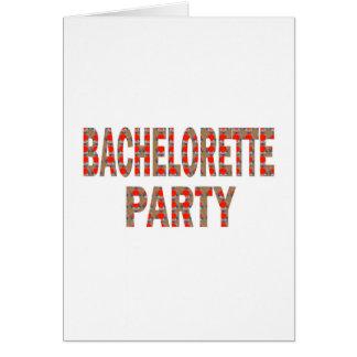 バチェロレッテ: 低価格Gを結婚している婚約 グリーティングカード