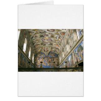 バチカンシスティーナ礼拝堂 カード