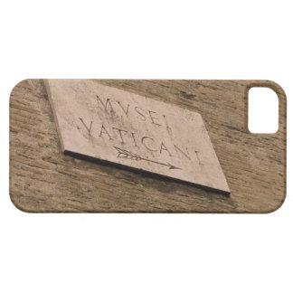 バチカン博物館の印、ローマ、イタリア iPhone SE/5/5s ケース