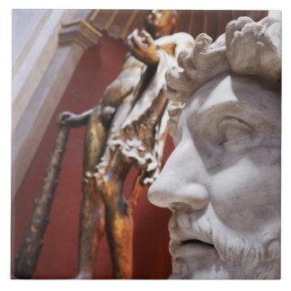 バチカン博物館、バチカン市国の中の彫刻、 タイル