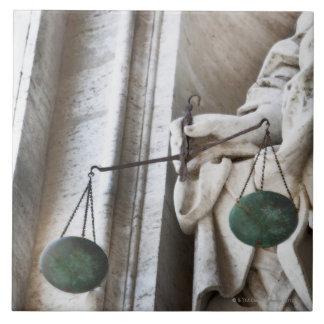 バチカン市国の彫像 タイル