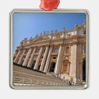 バチカン、ローマ、イタリアのサンピエトロのバシリカ会堂 メタルオーナメント