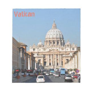バチカン、ローマ、イタリア ノートパッド