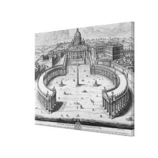 バチカン、ローマ キャンバスプリント