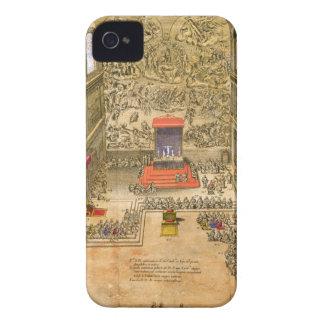 バチカン(色の版木、銅版、版画)の聴衆のチャペル Case-Mate iPhone 4 ケース