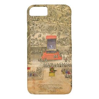 バチカン(色の版木、銅版、版画)の聴衆のチャペル iPhone 8/7ケース