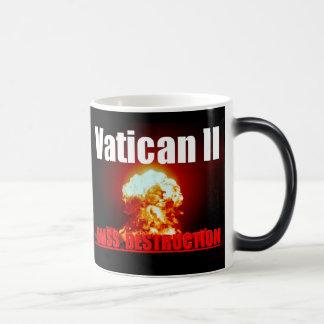 バチカンIIの変形させるマグ マジックマグカップ