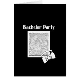 バチュラーパーティのちょうネクタイ カード