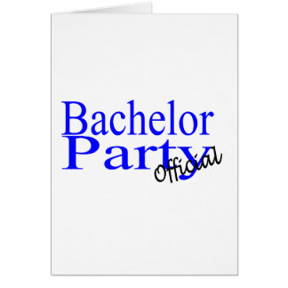 バチュラーパーティの公式の青 カード