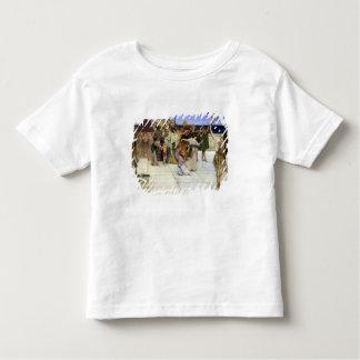 バッカスへのアルマTadema  Aの献呈 トドラーTシャツ