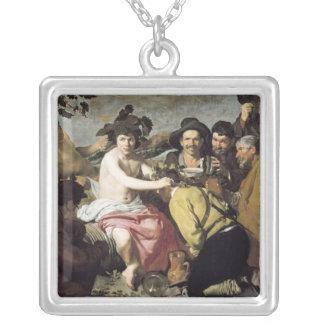 バッカス1628年の勝利 シルバープレートネックレス