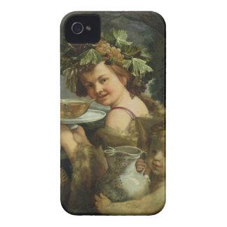バッカス(キャンバスの油) Case-Mate iPhone 4 ケース