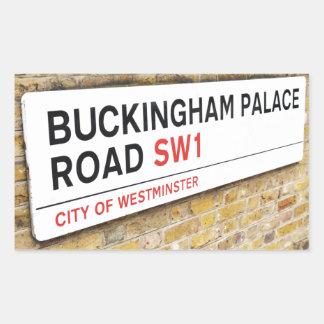 バッキンガム宮殿、ロンドン- 長方形シール