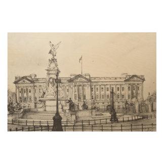 バッキンガム宮殿London.2006 ウッドウォールアート