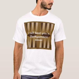 バックギャモン: 慈悲無し Tシャツ