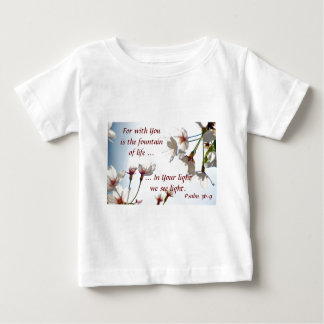 バックリットの桜2 ベビーTシャツ