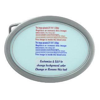 """バックルベルトの楕円形の(ただ)サイズ: 3.75"""" x 2.75""""。 Pewte 卵形バックル"""